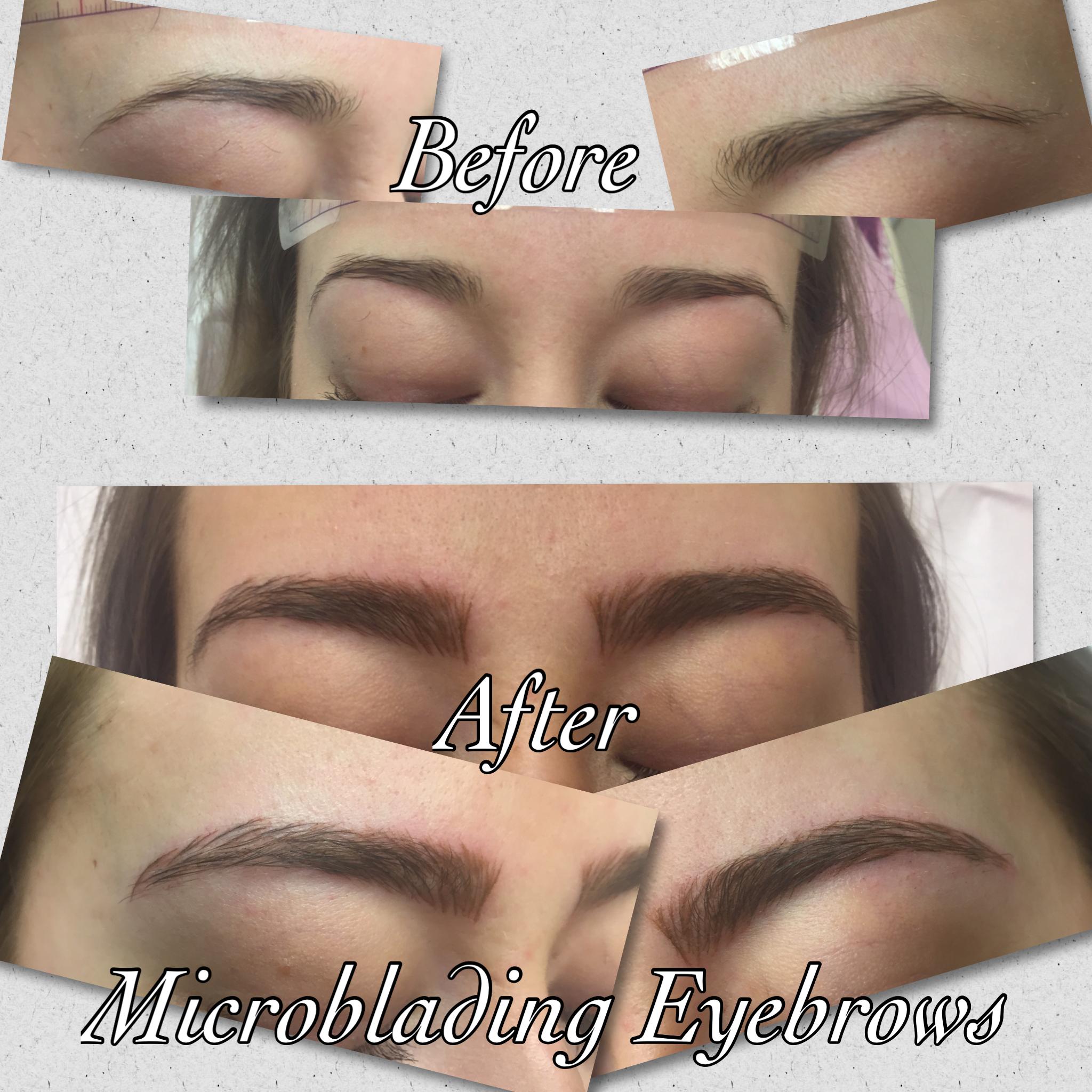 Micro Blading Eyebrows The Beauty Spot Uckfield